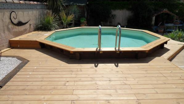 terrasse autour piscine bois nos conseils. Black Bedroom Furniture Sets. Home Design Ideas