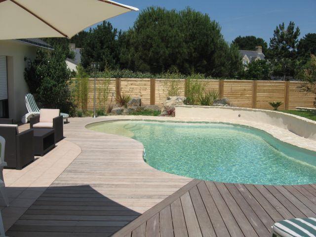 Terrasse avec piscine en bois - Nos Conseils