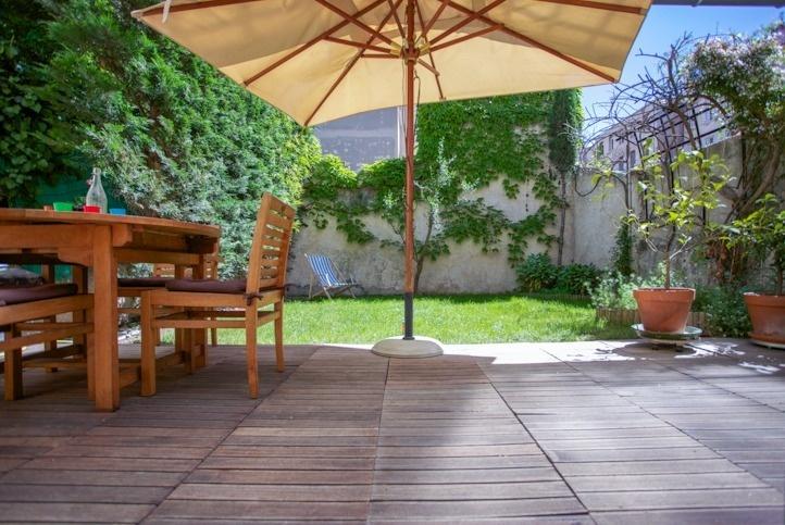 Terrasse beton 50m2 nos conseils - Petit jardin zen interieur la rochelle ...