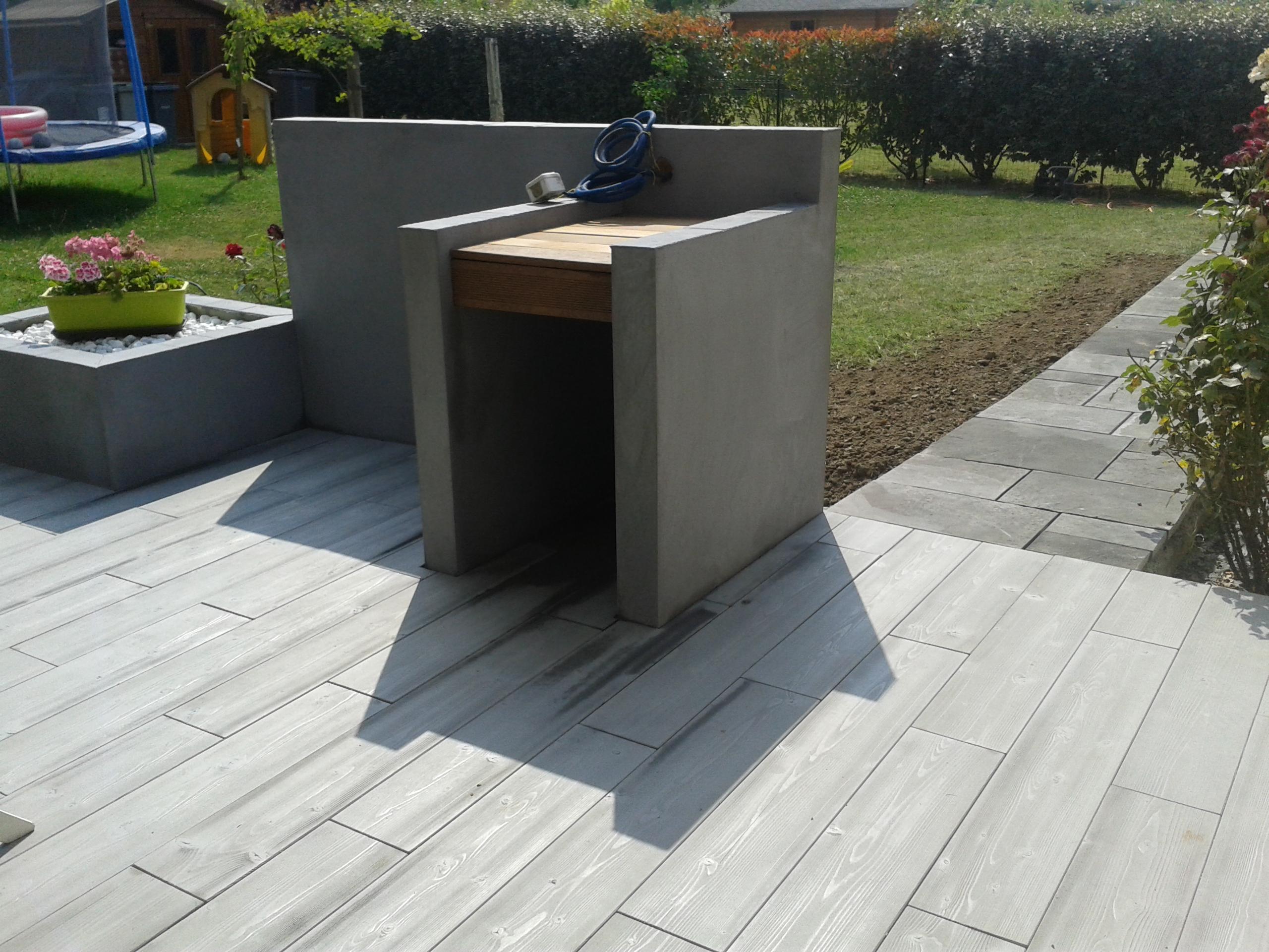terrasse beton bois nos conseils. Black Bedroom Furniture Sets. Home Design Ideas