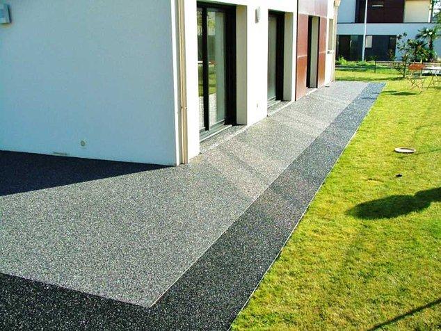 cailloux pour terrasse terrasse beton cailloux nos conseils. Black Bedroom Furniture Sets. Home Design Ideas