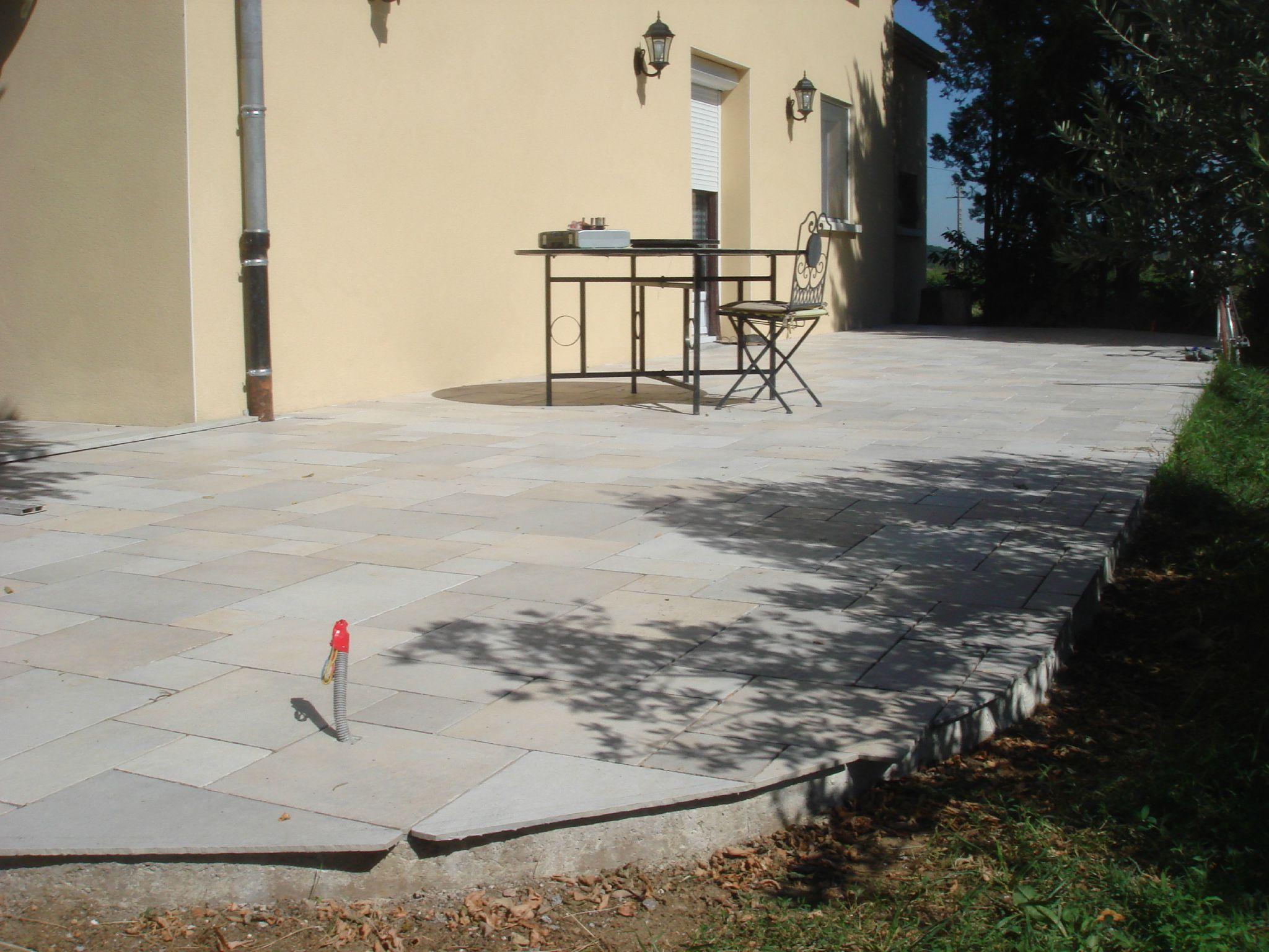 Photo De Terrasse En Carrelage intérieur terrasse beton carrelage - nos conseils