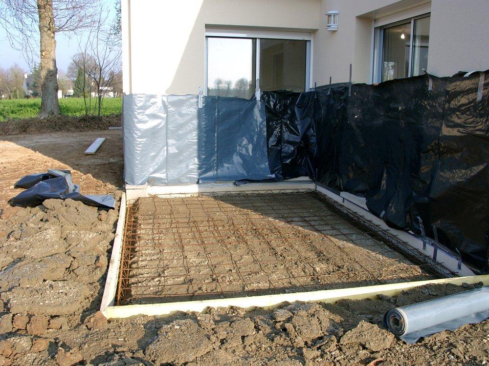 Beton Terrasse Dosage : Deformee Terrasse Pave Beton Terrasse Composite  Horizon Terrasse