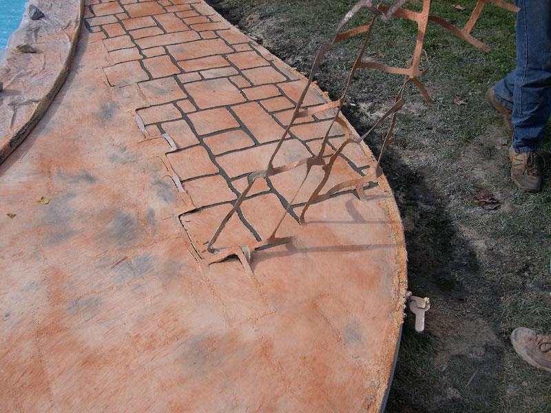 Terrasse beton finition nos conseils for Piscine finition beton