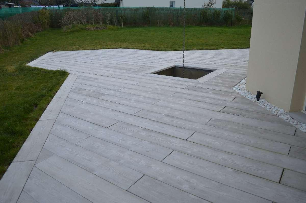 terrasse beton imitation bois nos conseils. Black Bedroom Furniture Sets. Home Design Ideas