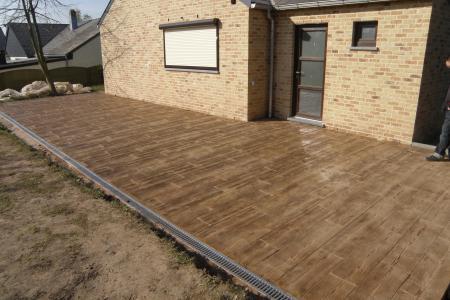 terrasse beton imprime nord