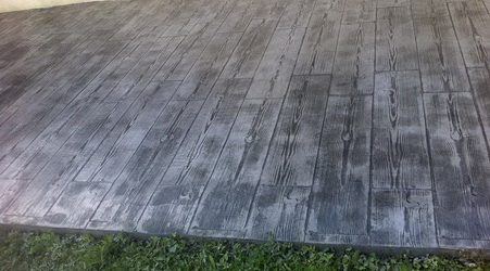 terrasse beton imprime parquet nos conseils. Black Bedroom Furniture Sets. Home Design Ideas