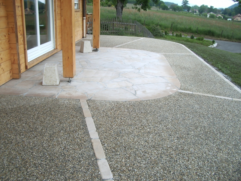 Terrasse beton lave nos conseils Terrasse en beton decoratif