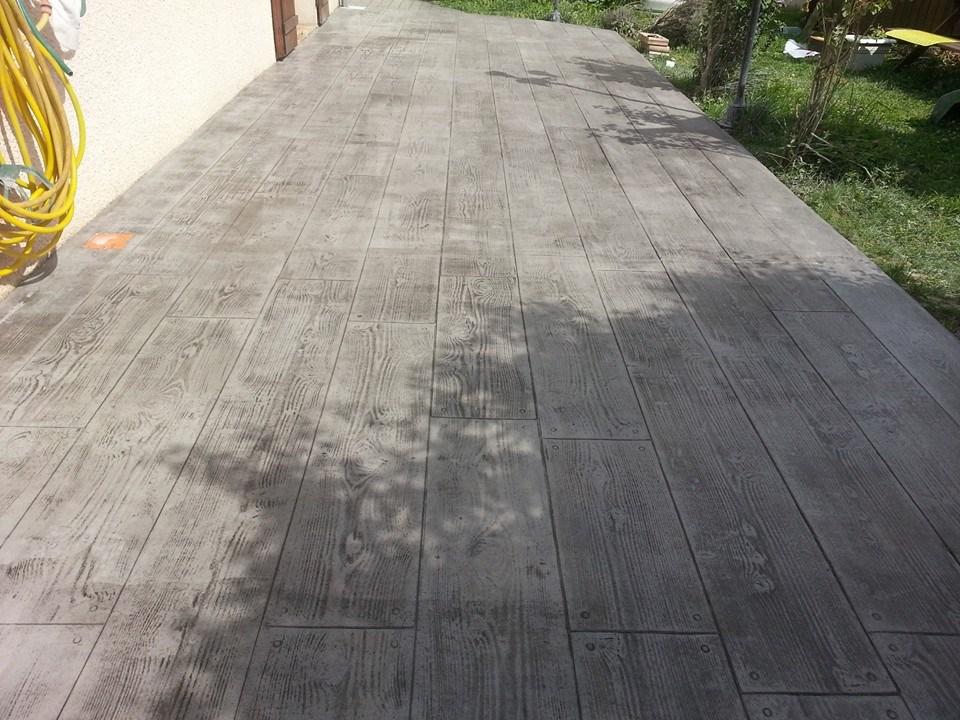 Moule pour terrasse beton