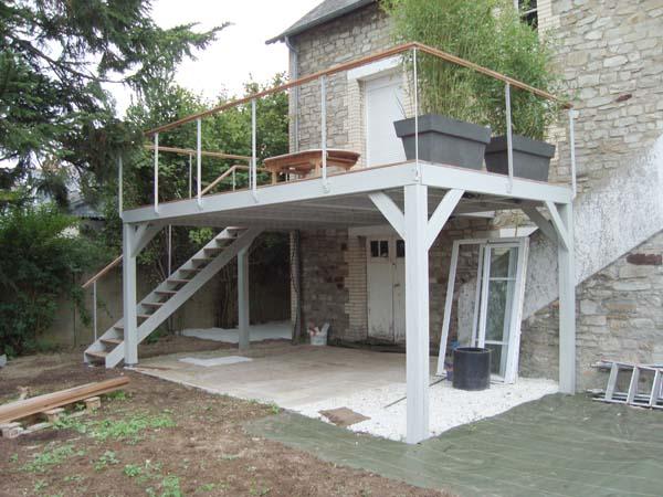 terrasse beton pilotis. Black Bedroom Furniture Sets. Home Design Ideas