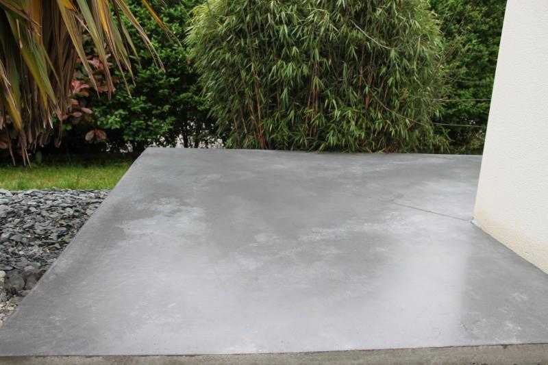 terrasse beton quartz nos conseils. Black Bedroom Furniture Sets. Home Design Ideas