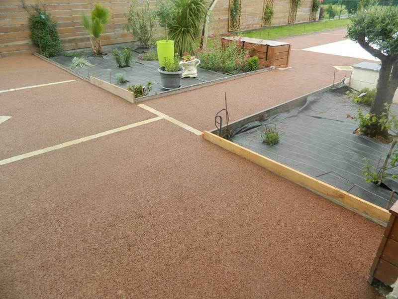 Terrasse beton teinte nos conseils - Pave de beton terrasse ...