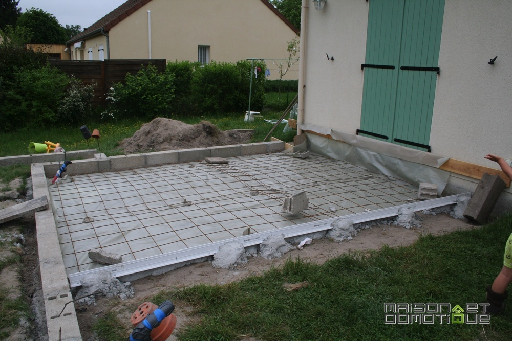 Terrasse beton tuto nos conseils for Terrasse suspendue beton photo