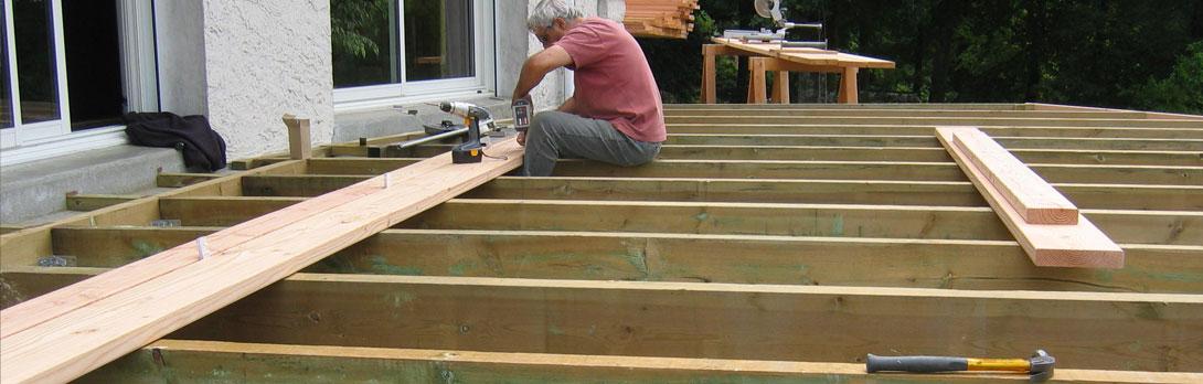 terrasse bois a faire soi meme nos conseils. Black Bedroom Furniture Sets. Home Design Ideas