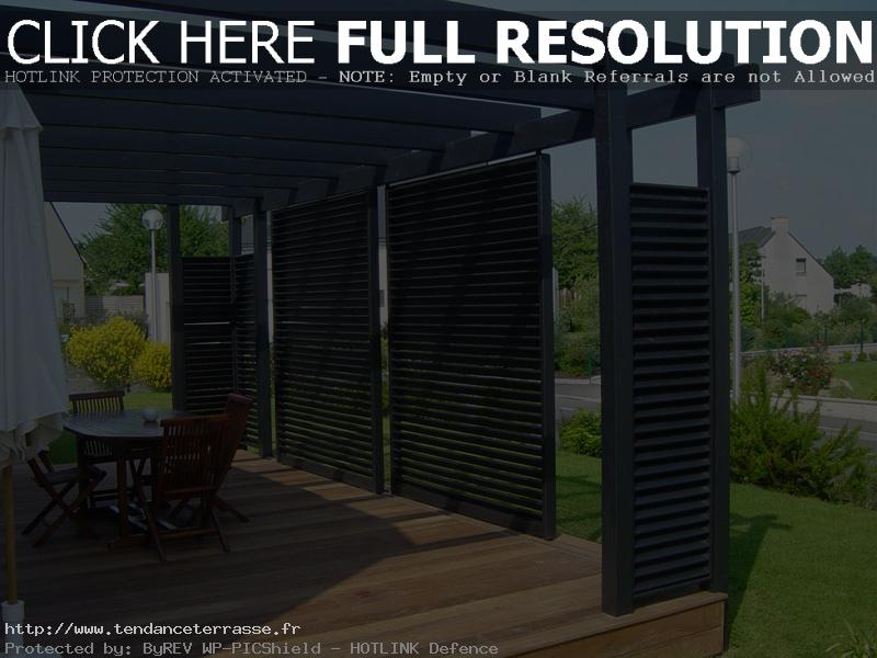 Terrasse Bois Avec Pergola  Nos Conseils