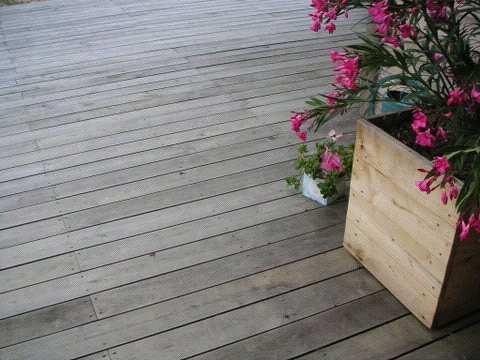 terrasse bois chataignier nos conseils. Black Bedroom Furniture Sets. Home Design Ideas