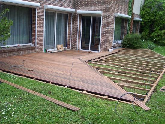 terrasse bois composite comment poser - Comment Poser Une Terrasse En Bois Composite