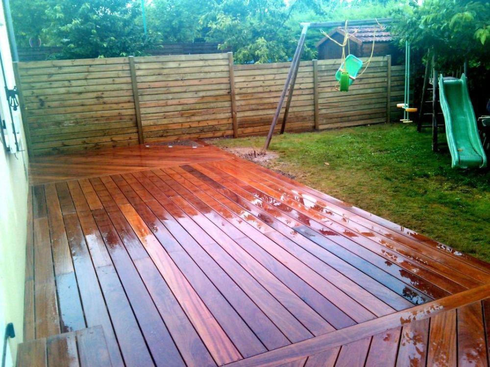 Terrasse bois composite dijon nos conseils - Terrasse jardin lyon dijon ...