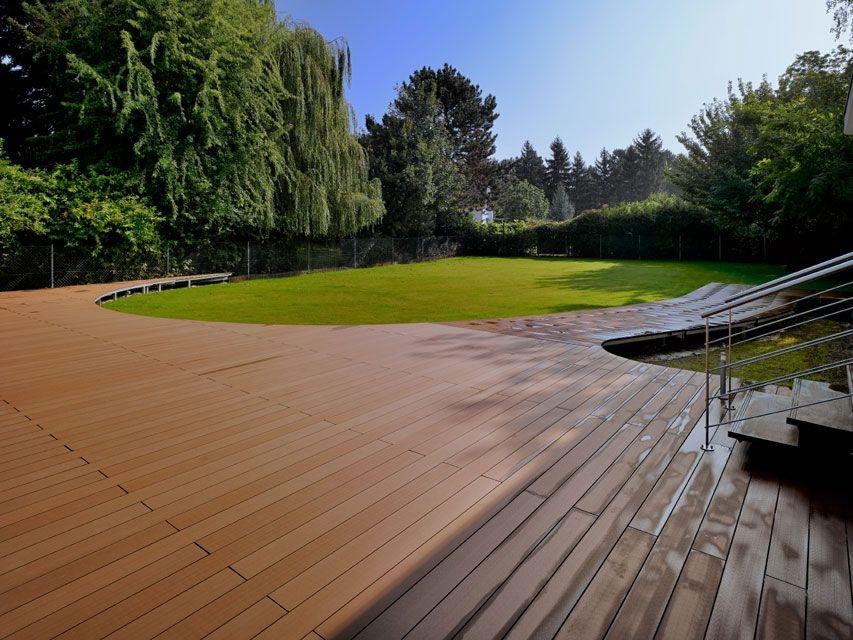 Best Terrasse Bois Composite Geolam With Modele De Terrasse En Bois  Exterieur