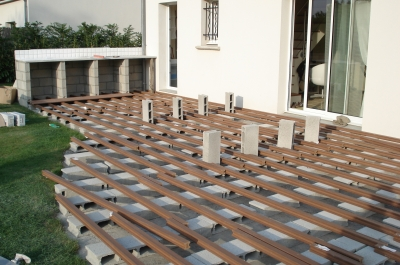 Eclairage Exterieur Terrasse Bois Terrasse Bois Pour Avec Spot