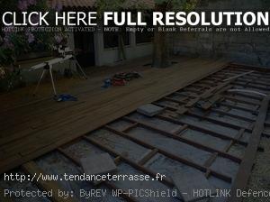 Terrasse Bois Composite Sur Sol Meuble
