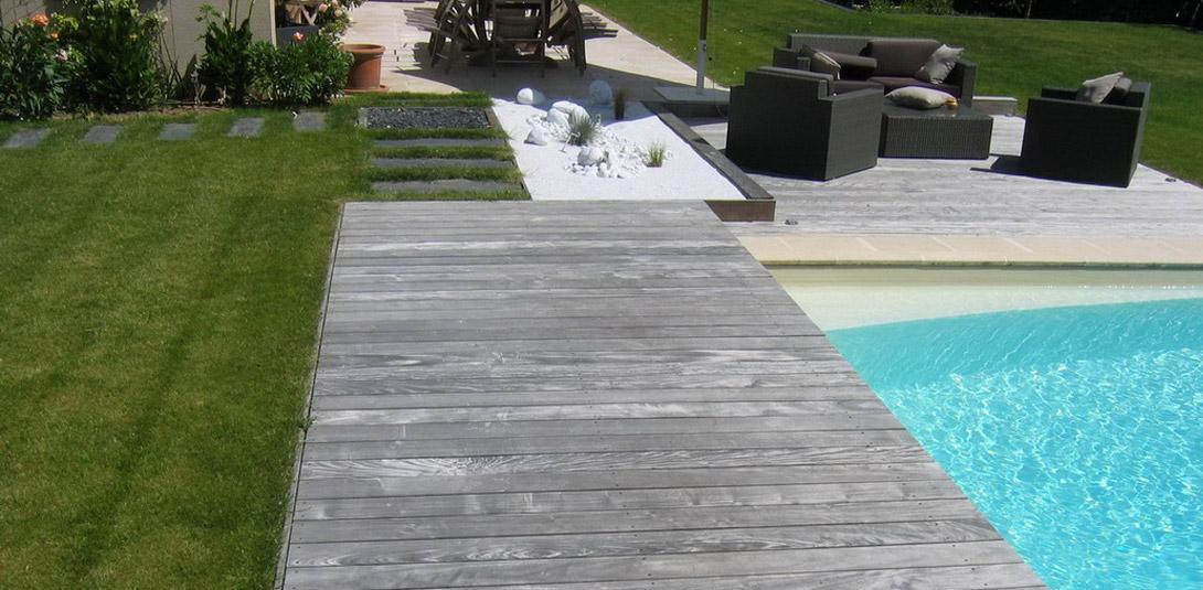 Terrasse bois entourage piscine nos conseils - Terrasse autour piscine ...