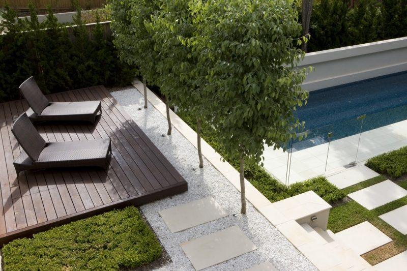 terrasse bois et cailloux nos conseils. Black Bedroom Furniture Sets. Home Design Ideas