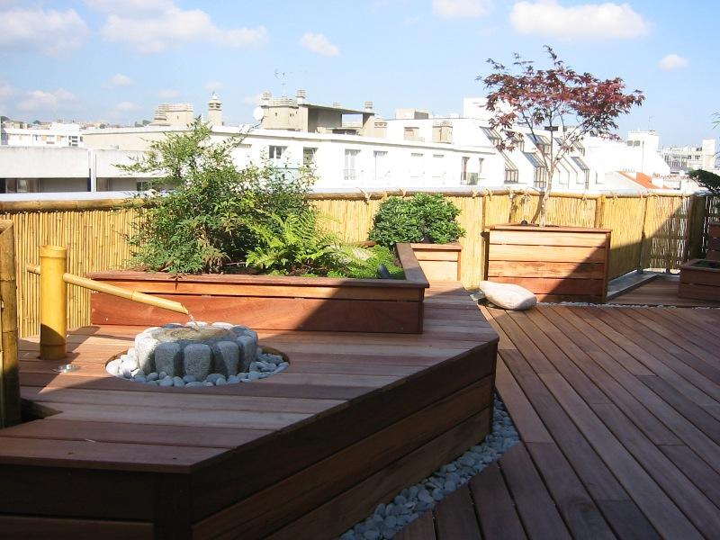 Terrasse bois et jardin zen - Nos Conseils