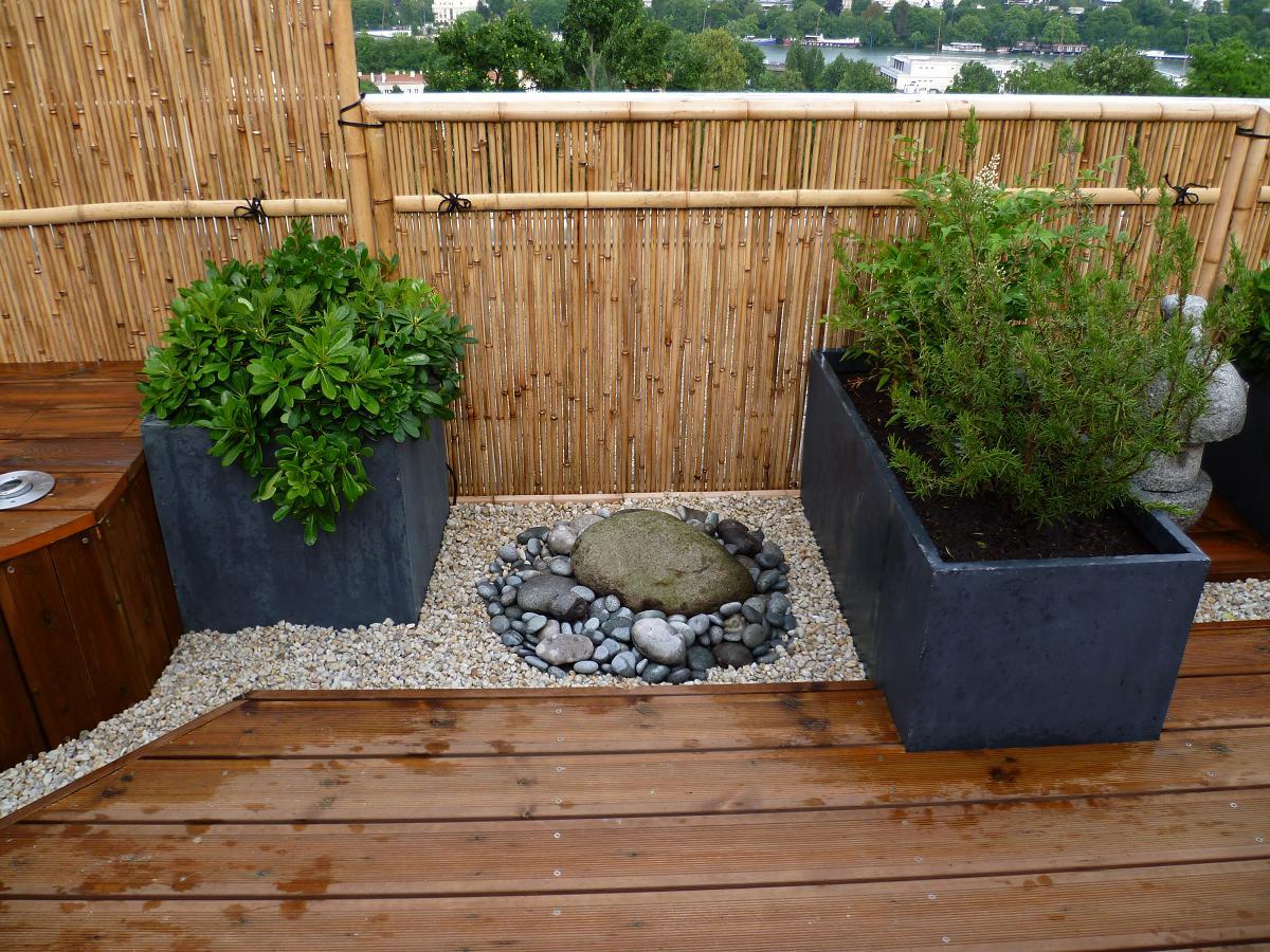 Terrasse bois japonaise
