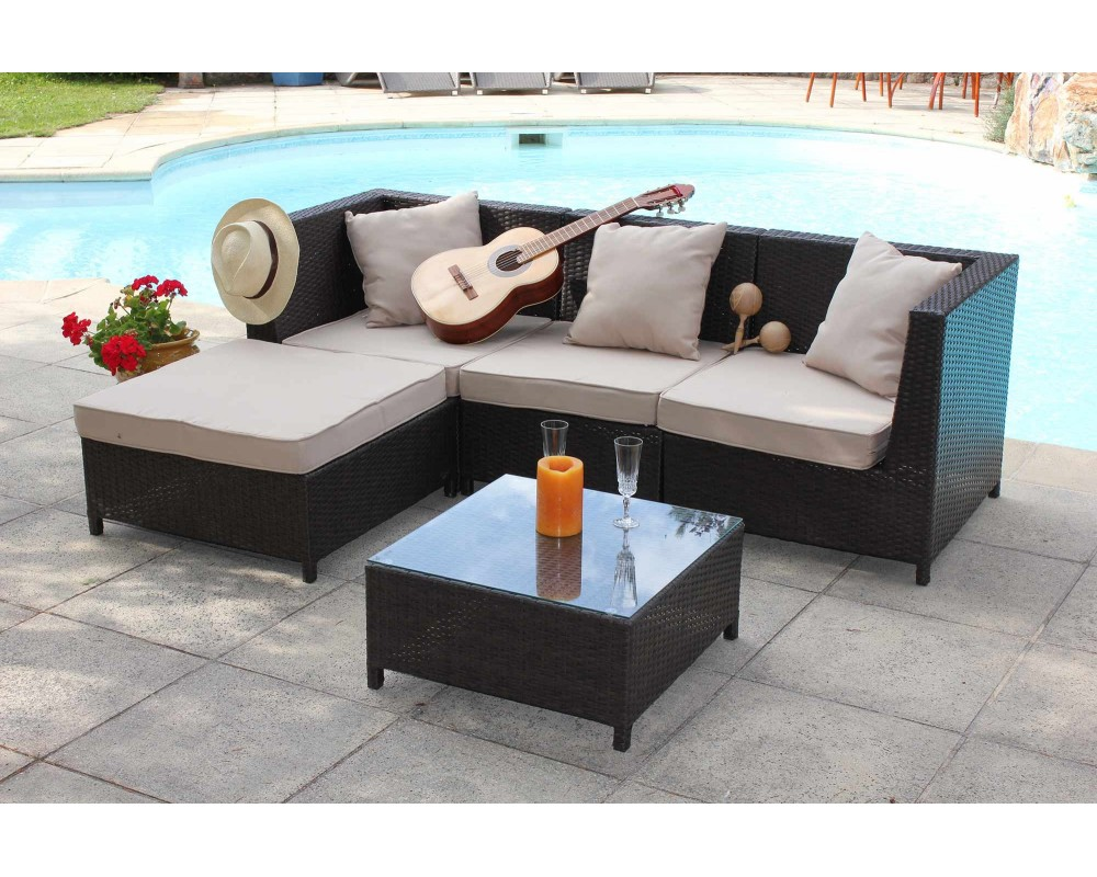 emejing table de jardin en bois leclerc contemporary awesome interior home satellite. Black Bedroom Furniture Sets. Home Design Ideas