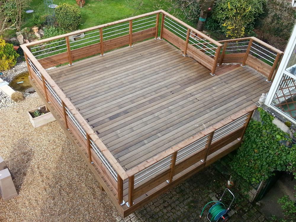 terrasse bois maine et loire nos conseils. Black Bedroom Furniture Sets. Home Design Ideas