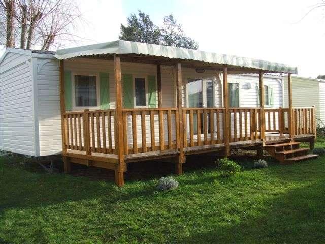 terrasse bois mobil home