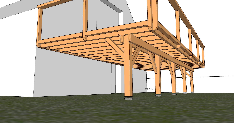 Terrasse bois pilotis kit nos conseils for Objectif bois cloison japonaise