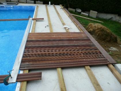 terrasse bois piscine pose nos conseils. Black Bedroom Furniture Sets. Home Design Ideas