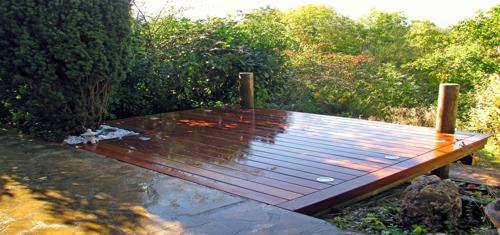 terrasse bois pour piscine autoportee nos conseils. Black Bedroom Furniture Sets. Home Design Ideas