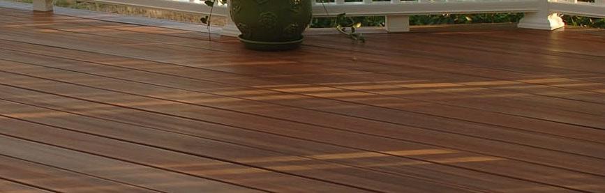 terrasse bois quinconce ou pas