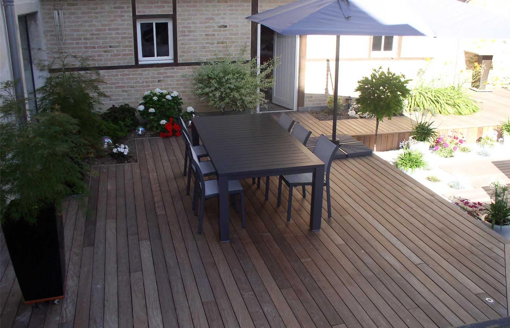 Terrasse bois reims nos conseils for Modele de terrasse en bois exterieur