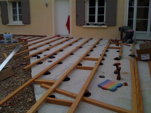 Terrasse bois sans dalle nos conseils for Objectif bois cloison japonaise