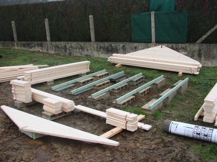 Terrasse bois sans dalle beton nos conseils for Objectif bois cloison japonaise