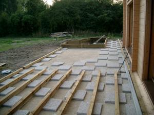 Terrasse bois sur sable nos conseils for Terrasse sur lit de sable