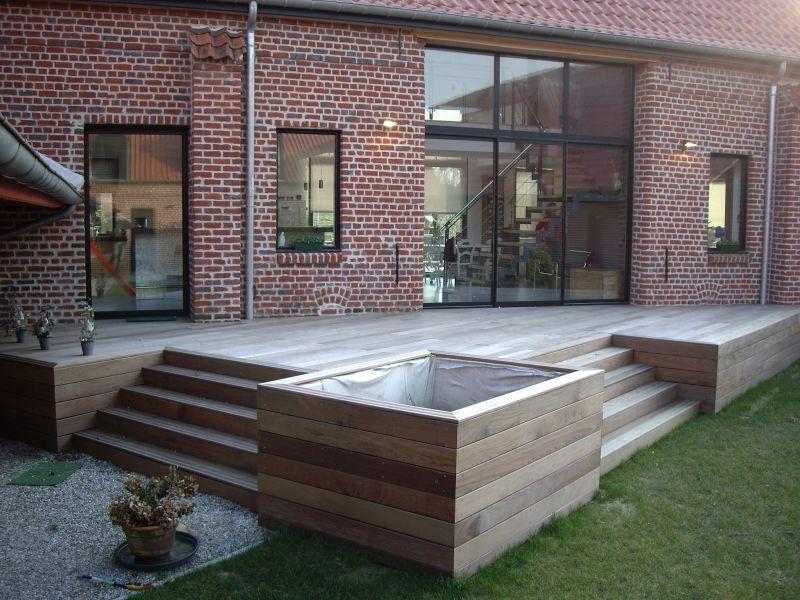 Terrasse bois suspendue prix nos conseils - Terrasse suspendue bois prix ...