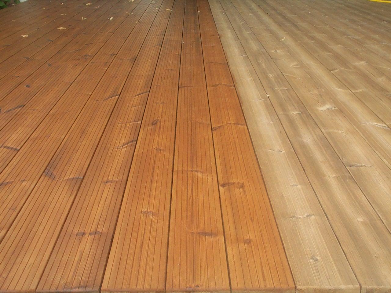 Terrasse bois thermo traite