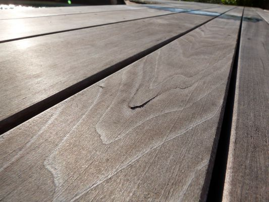 Terrasse bois tulipier nos conseils for Objectif bois cloison japonaise