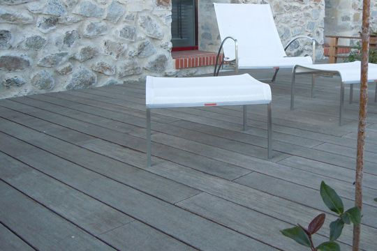 Terrasse carrelage gris id es de for Carrelage 76