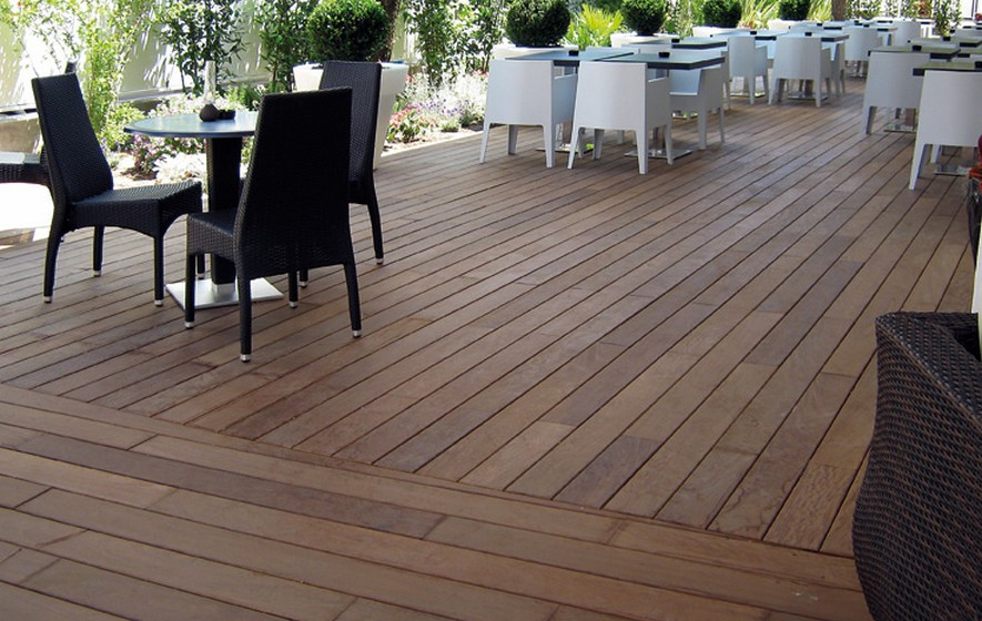 Charmant Latest Terrasse Carrelage Parquet With Terrasse En Carrelage Imitation Bois Galerie De Photos