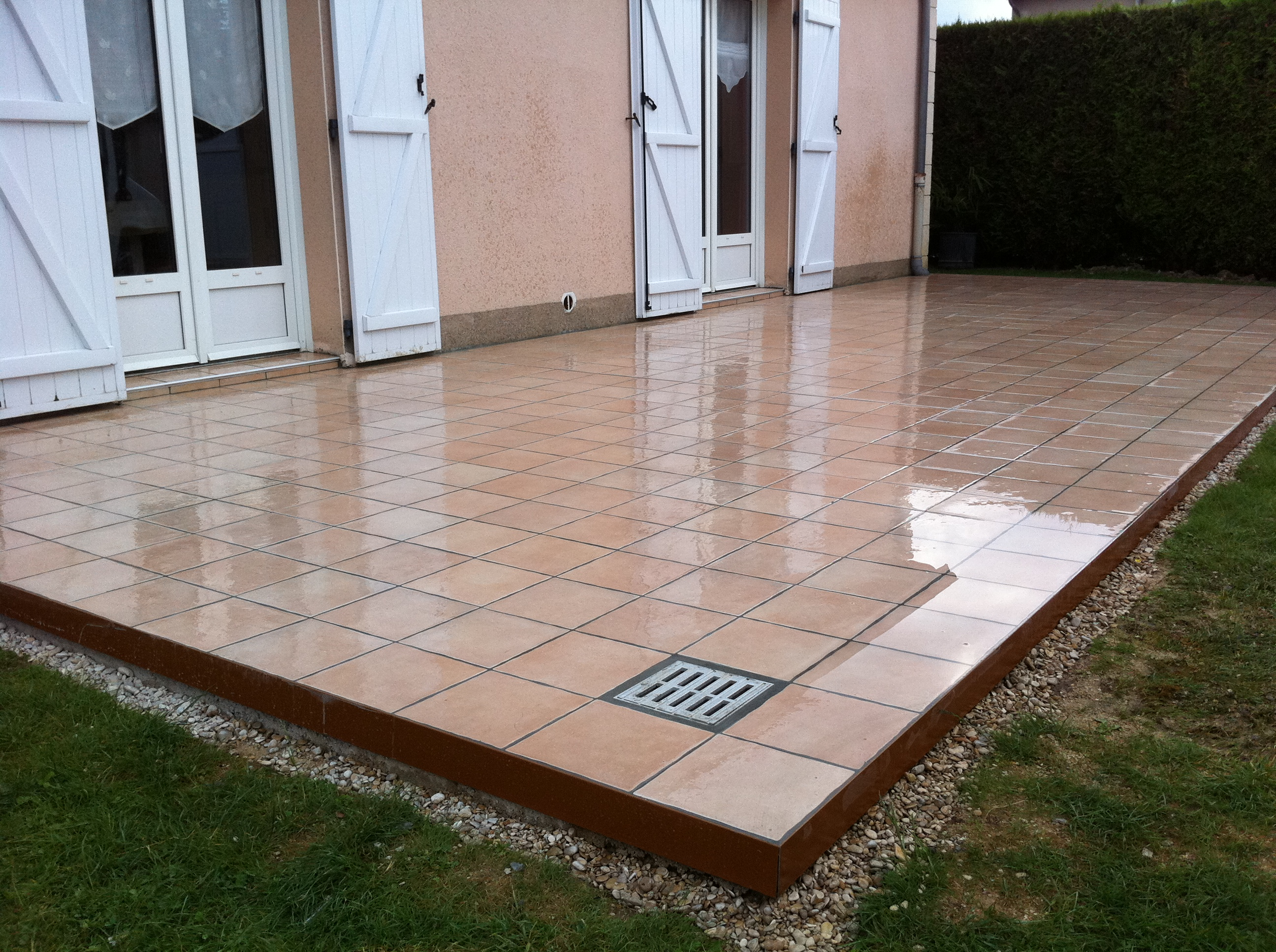 Terrasse carrelage photo nos conseils for Carrelage terrasse