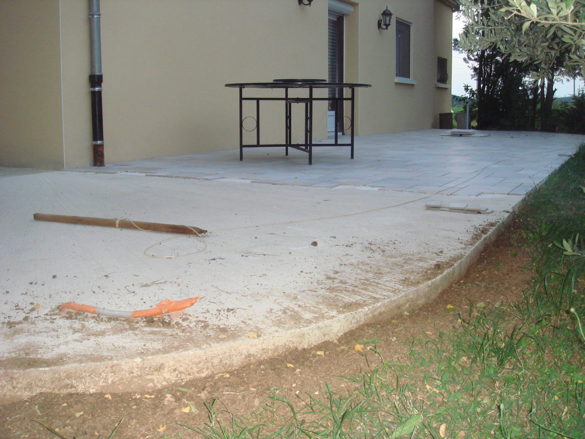 Carrelage sur dalle beton 28 images pose carrelage sur for Carrelage terrasse