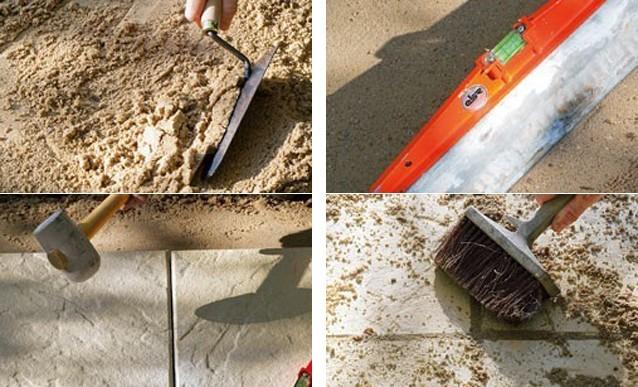 terrasse carrelage sur lit de sable nos conseils. Black Bedroom Furniture Sets. Home Design Ideas