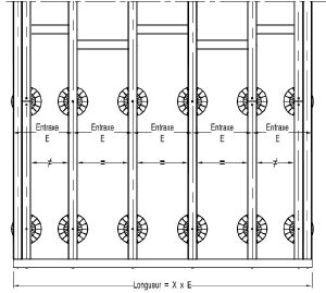 Terrasse composite distance entre lambourde nos conseils for Ecartement lambourde terrasse