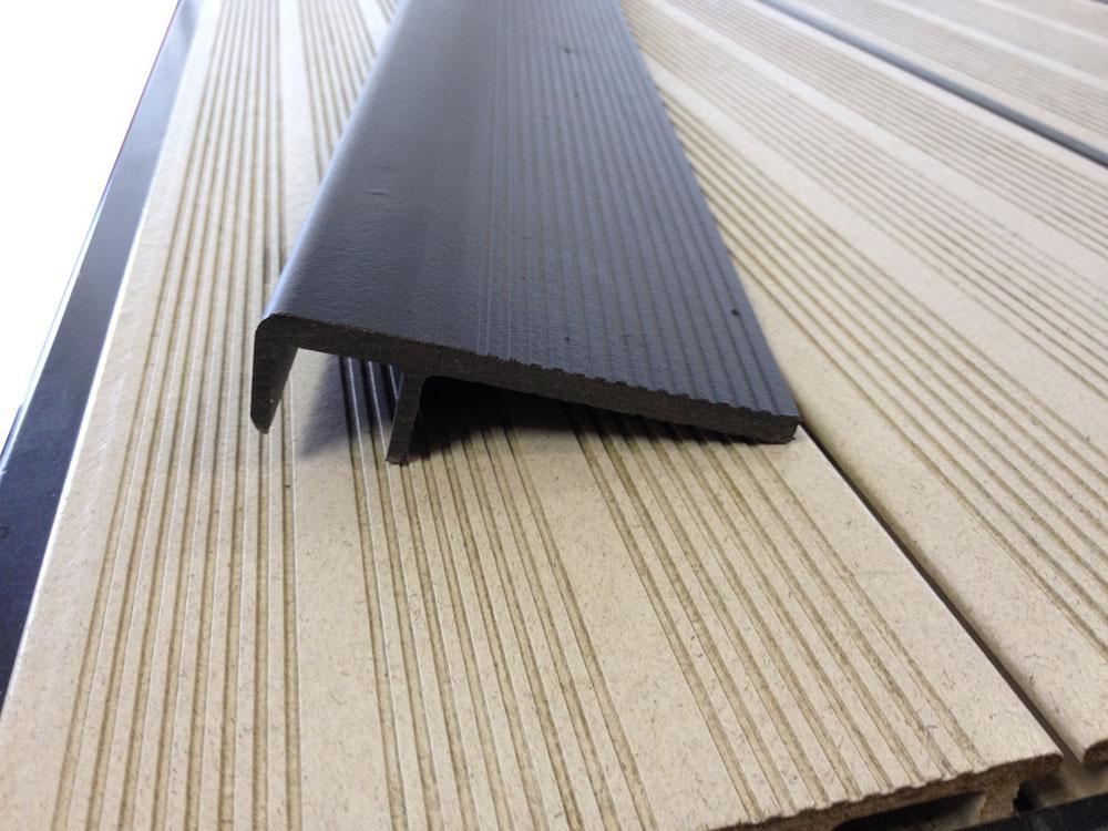 terrasse composite finition nos conseils. Black Bedroom Furniture Sets. Home Design Ideas